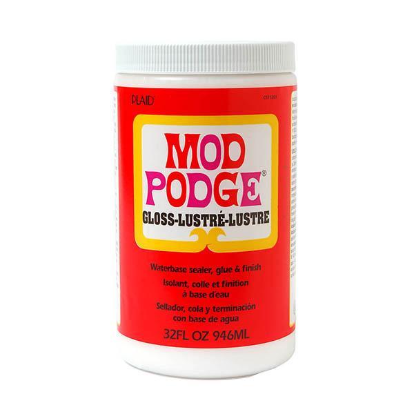 Mod Podge brilhante 946ml - Sombras e Contrastes
