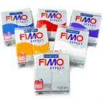 Fimo effect 56gr - Fimo effect 104 translúcido Amarelo