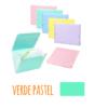 Pasta acordeão de elásticos c/13 departamentos - Pasta acordeão de elásticos c/13 departamentos Verde