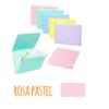 Pasta acordeão de elásticos c/13 departamentos - Pasta acordeão de elásticos c/13 departamentos Rosa