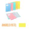 Pasta de elásticos c/30 Bolsas - Pasta de elásticos c/30 Bolsas - Amarelo Pastel