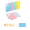 Pasta de elásticos c/20 Bolsas - Pasta de elásticos c/20 Bolsas - Azul Pastel