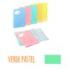 Pasta de elásticos c/20 Bolsas - Pasta de elásticos c/20 Bolsas - Verde Pastel