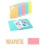 Pasta com etiqueta de elásticos A4 - Pasta com etiqueta de elásticos A4 - Rosa Pastel