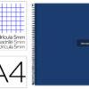 Caderno Antartik A4 Quadriculado - Azul Escuro